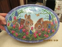 """Gorgeous """"Easter"""" Themed Tin Complete w/Excelsior Shreds in Kingwood, Texas"""
