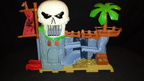 1994 Matchbox Light Up Talking Pirates BURIED TREASURE PLAYSET (T=26) in Fort Campbell, Kentucky