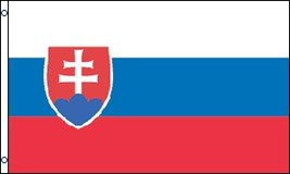 Flag - Slovakia - 3ft x 5ft - new in Fort Lewis, Washington