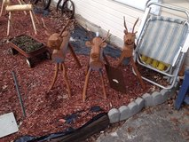 Outdoor Reindeer in Fort Campbell, Kentucky