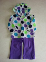 Girl's 9M-12M 2-piece fleece outfit in Bolingbrook, Illinois