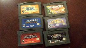 Nintendo Game Boy Advance SP - Flame with 13 games in The Woodlands, Texas