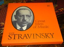 Igor Stravinsky Time Life Great Men of Music 4 Album Box Set with Booklet in Camp Lejeune, North Carolina
