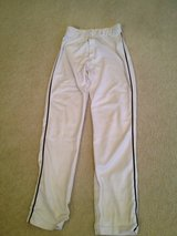 White/black Piping (S) Adult Baseball Pants in Joliet, Illinois