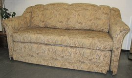 Nice Loveseat Sleeper Couch Hide a Bed in Ramstein, Germany