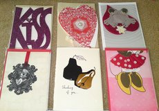 GROUP 3 - 6 Hallmark Signature Valentine's Day Greeting Cards - NEW IN PKG in Camp Lejeune, North Carolina