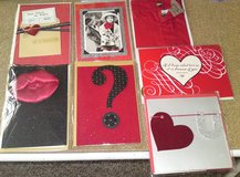 GROUP 5 - 7 Hallmark Signature Valentine's Day Greeting Cards - NEW IN PKG in Camp Lejeune, North Carolina