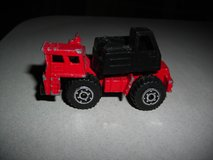 Matchbox 1/90 Red Mobile Crane in Alamogordo, New Mexico