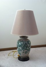 Antique Lamp and Shade in Westmont, Illinois