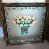 Antique Window Frame Art in Naperville, Illinois