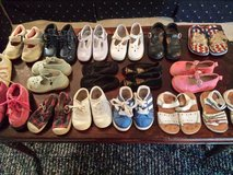 Toddler Girl 6 - 6.5, 6.5W dress shoes, sandals, more! in Naperville, Illinois