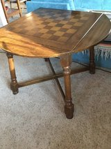 Solid Wood Game Table in Lawton, Oklahoma