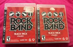 RockBand Track Pack volume 2 for ps3 in Macon, Georgia