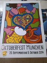 Octoberfest 2014 Official Poster in Ramstein, Germany