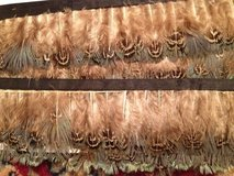 Tan/Teal/Brown Feather Trim-5 yards in Aurora, Illinois