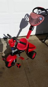 Smart Trike 4 in 1 Ladybug Tricycle in Fort Campbell, Kentucky