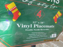 Set Of 4 Christmas Placemats - New In Package in Houston, Texas