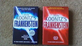 Dean Koontz Frankenstein book lot in Fort Campbell, Kentucky
