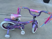 Little Girl's Bike or Bicycle with training wheels in Fort Benning, Georgia