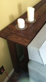 Sofa table solid pallet wood in Camp Lejeune, North Carolina