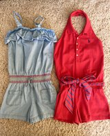 Girls Summer Rompers-Size 10 in Lockport, Illinois