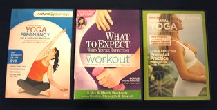 3 Prenatal and Pregnancy Workout DVDs in Chicago, Illinois