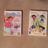 Wii Dora and Nickelodeon Games in Lockport, Illinois