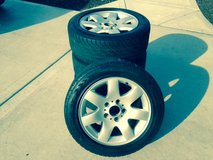 rims with tires in Naperville, Illinois