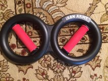 Iron Arms Hand Grip Forearm Strength Exercise Gripper in Camp Lejeune, North Carolina