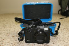 Canon G12 Power Shot w/ Pelican 1050 case blue in Quantico, Virginia