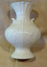 "Elfin Bud Vase by Lenox China, 4"" tall, with Gold Trim in 29 Palms, California"