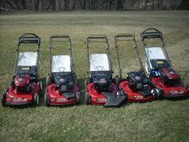 WOW TORO& HONDA LAWN MOWERS; PERSONAL PACE, FRONT SELF PROPEL, BAG OR NOT, CLEAN MOW READY !! in Naperville, Illinois
