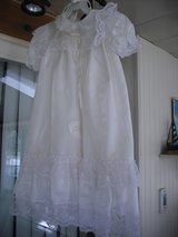Infant Christening Gown Set 0-6month in Lockport, Illinois