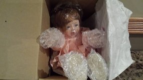 """Roly Poly Polly"" Porcelain Doll new in Chicago, Illinois"