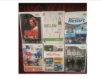WII GAMES in Fort Lewis, Washington