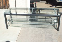 Glass TV Stand in Camp Pendleton, California