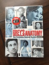 New 2nd Season Grey's Anatomy DVD in Naperville, Illinois