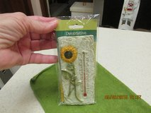Decorative Wall Thermometer - New In Pkg. in Kingwood, Texas