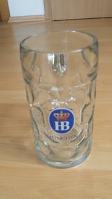 HB 1liter beer Mug . Munich in Ramstein, Germany