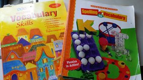 Building Vocabulary Skill & Spelling work books in Tacoma, Washington