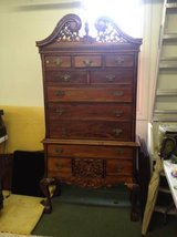 Chippendale highboy dresser in Naperville, Illinois