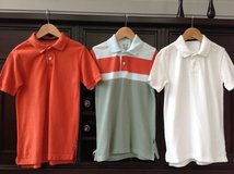 Boys Short-Sleeved Polo Shirts from The Gap - Size 8 in St. Charles, Illinois