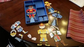Pretend Boy Characters / Magnetic Puzzle Set in Fort Campbell, Kentucky