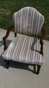 Striped Ocasional Chair in Fort Campbell, Kentucky