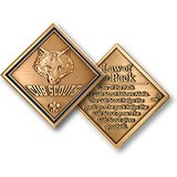 cub scouts law of the pack coin in Fort Campbell, Kentucky