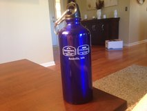 Blue Metal Water Bottle in Joliet, Illinois