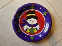 Christmas Plate in Kingwood, Texas