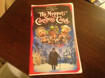 Muppet Christmas Carol VHS in Naperville, Illinois