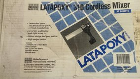 Latapoxy 310 cordless Mixer in Clarksville, Tennessee