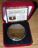 *** Ken Griffey Jr. Bronze Medallion Coin Highland Mint with COA*** in Tacoma, Washington